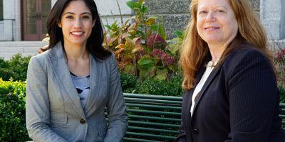 Ann E. Dibble, Esq., and Keiko Cervantes-Ospina